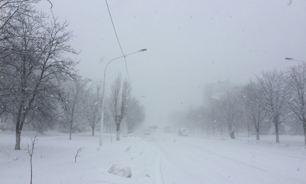 Зима, зимушка, зима пришла к нам в конце декабря (фото, видео)