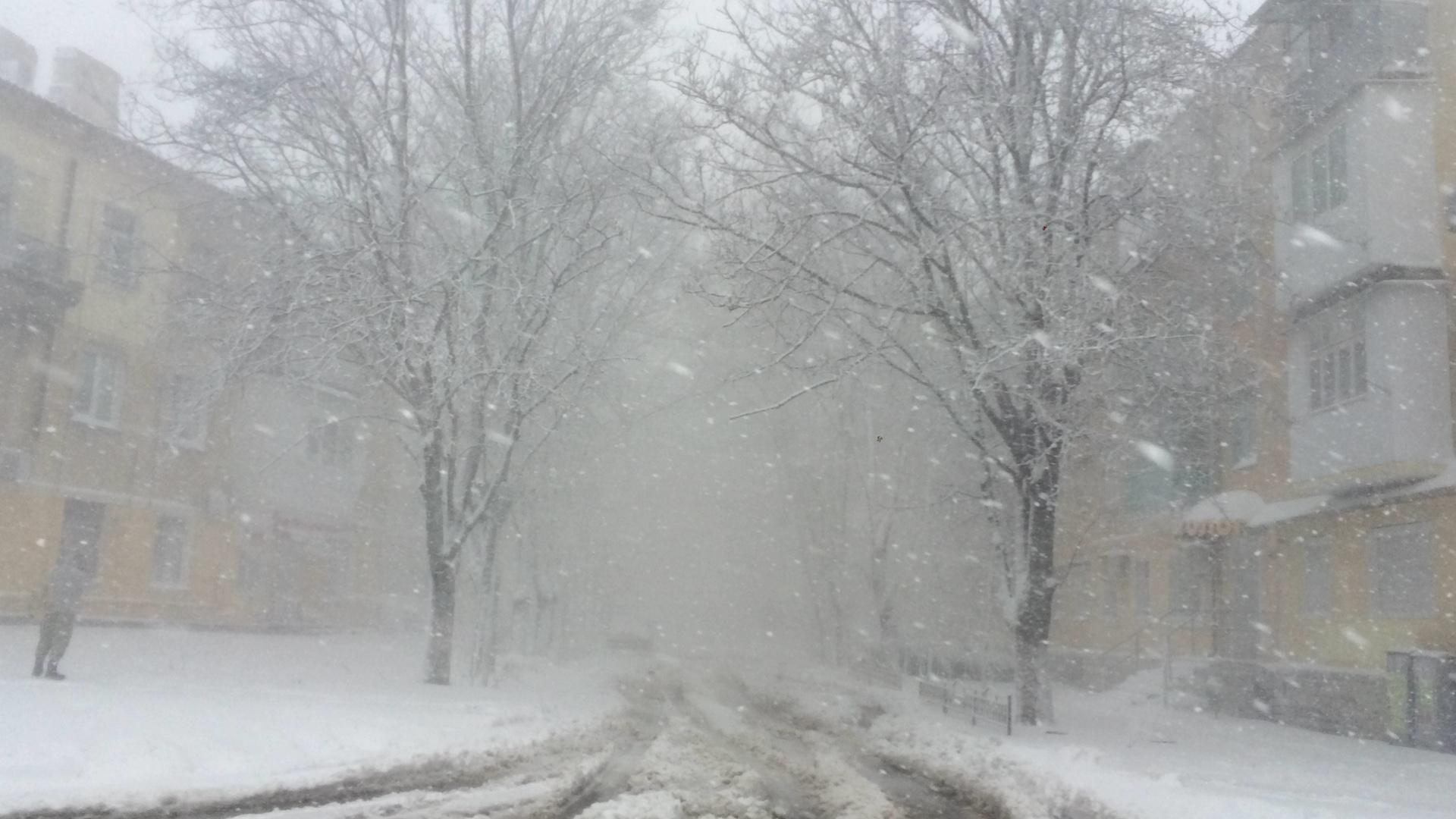 Синоптики обещают потепление и мокрый снег с завтрашнего дня
