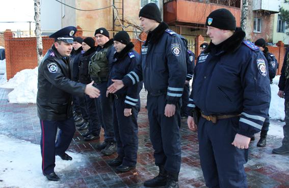 В Измаил с зоны АТО вернулись милиционеры-транспортники