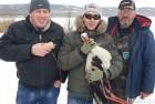 Под Одессой спасли замерзшего аиста (ФОТО)