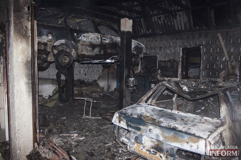 izmail-pojar-6 Сгоревшее СТО не было оформлено  в соответствии с законами Украины