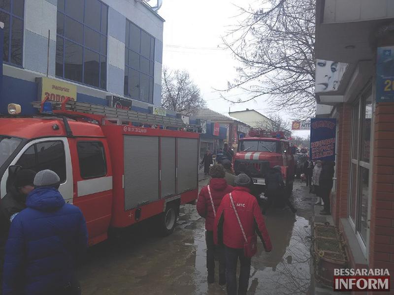 izmail-pojar-v-comfy-1 Установлена причина пожара в измаильском универмаге