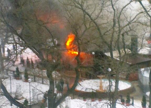 lbuXArC2hMQ-577x10241 Измаил: в центре города произошел взрыв в кафе, подозревают газ  (фото, видео)