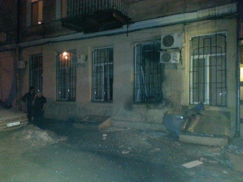 Мощный взрыв вОдессе (фото)