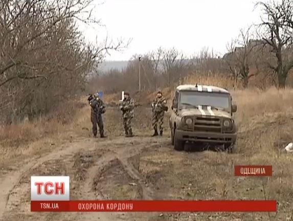 Границу с Приднестровьем теперь охраняет и Нацгвардия (видео)