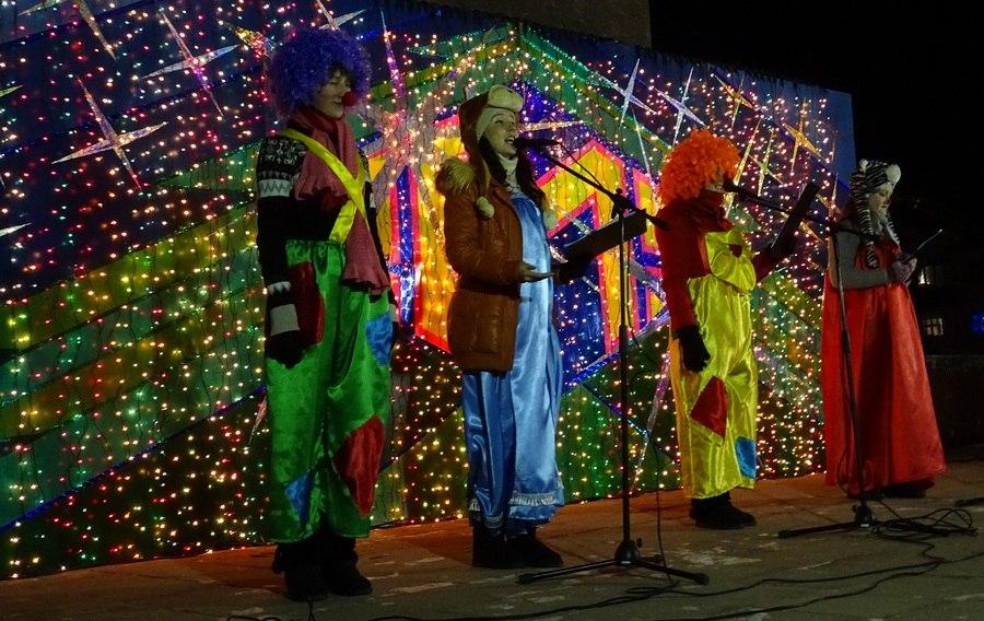 Как в Измаиле встретили Новый Год (фото)