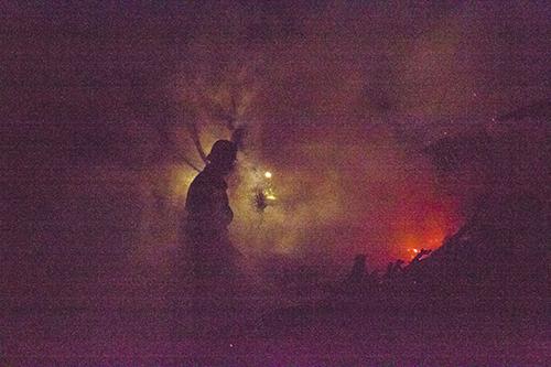 pojar Тарутинский район: Из-за пожара в летней кухне погиб 80-летний мужчина