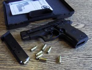 В Б.-Днестровском парень прогуливался по городу с пистолетом