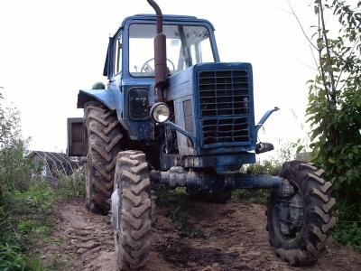 С предприятия в Измаильском районе угнали трактор с прицепом