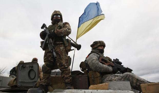 zima-v-ato Боевики продолжают обстреливать позиции украинских военных на Донбассе
