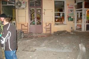 Ночной теракт в Одессе (фото)