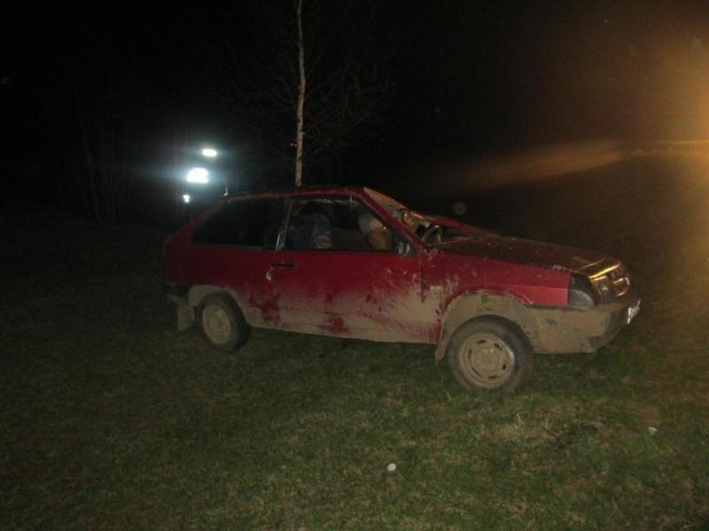 В Тарутинском районе водитель пытался скрыться и попал в ров