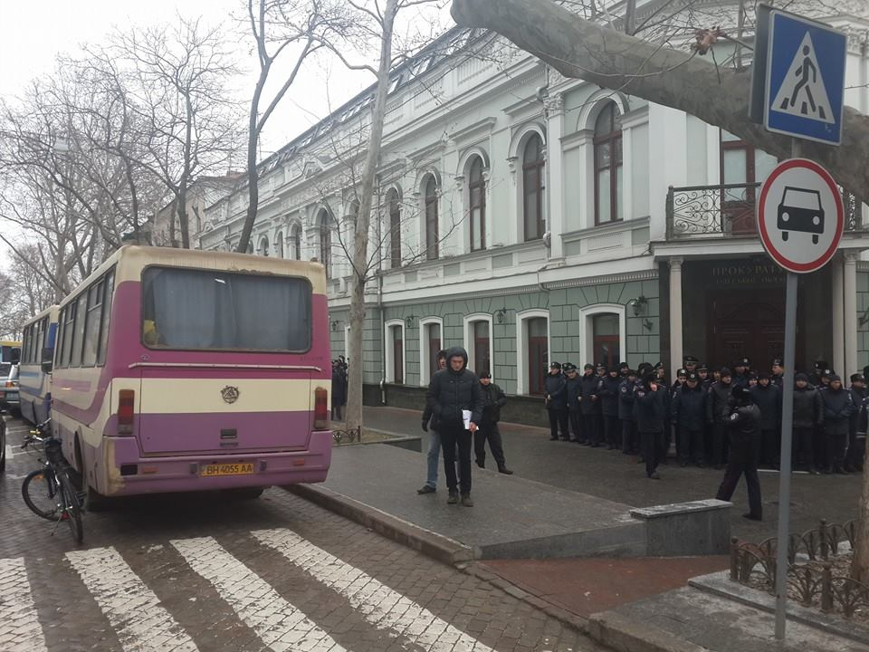 "10290669_917930138218335_7443573335795912947_n ""Свободу Резвушкину"" - в Одессе пикетируют прокуратуру (фото)"