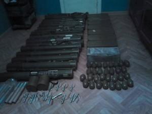 Огромный арсенал оружия был найден в Одессе