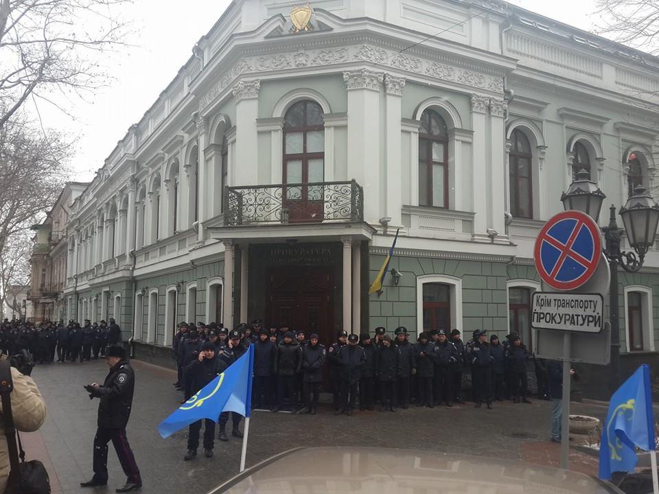 "10989106_917929838218365_9153359726774333238_n ""Свободу Резвушкину"" - в Одессе пикетируют прокуратуру (фото)"