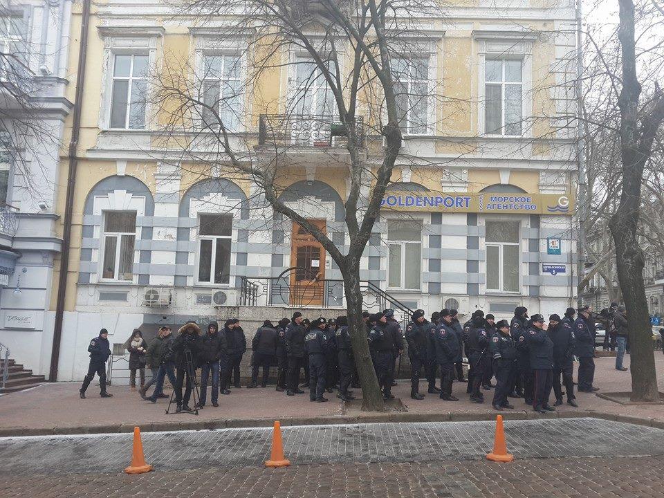 "10996803_917929968218352_433626072521331294_n ""Свободу Резвушкину"" - в Одессе пикетируют прокуратуру (фото)"