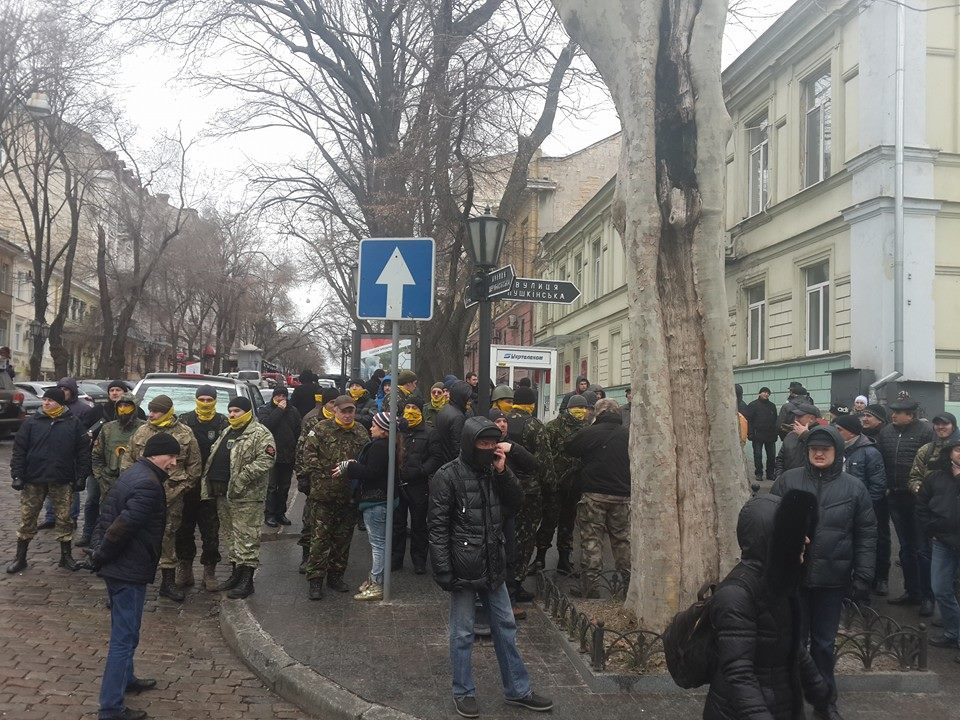 "10996813_917930118218337_1688767742338660105_n ""Свободу Резвушкину"" - в Одессе пикетируют прокуратуру (фото)"