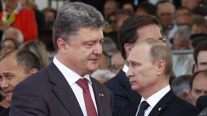 Порошенко, Путин, Меркель и Олланд обсудят мирный план