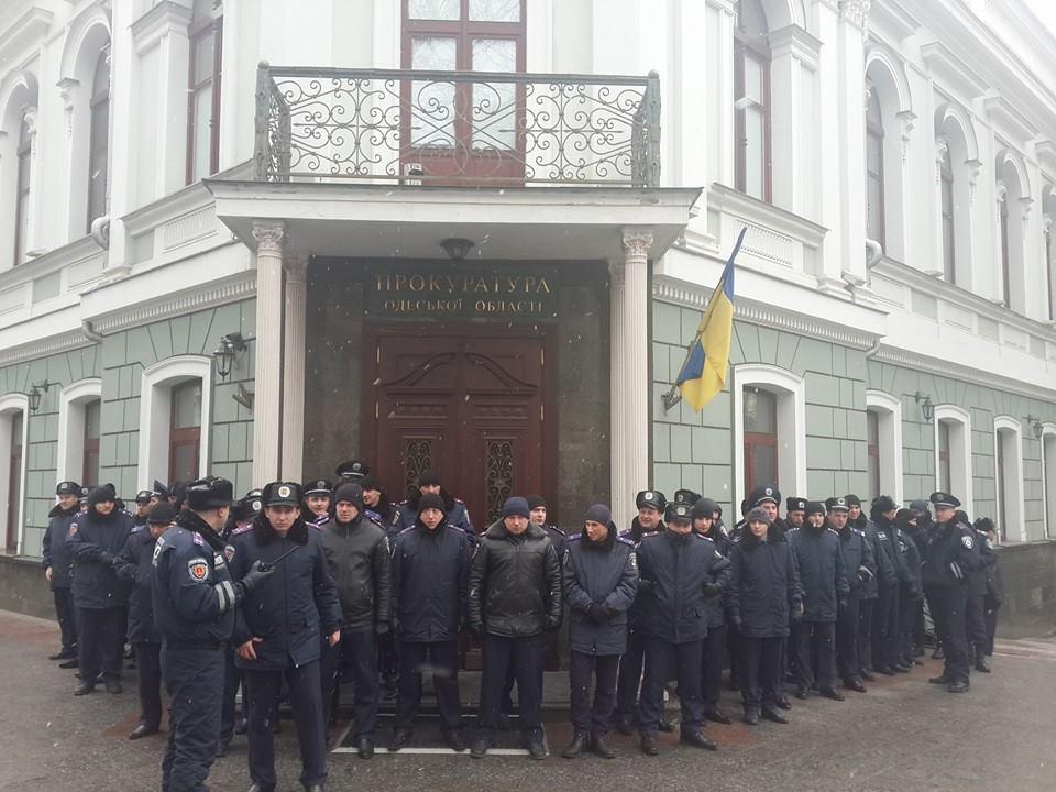 "1509769_917929814885034_893766795991820805_n ""Свободу Резвушкину"" - в Одессе пикетируют прокуратуру (фото)"
