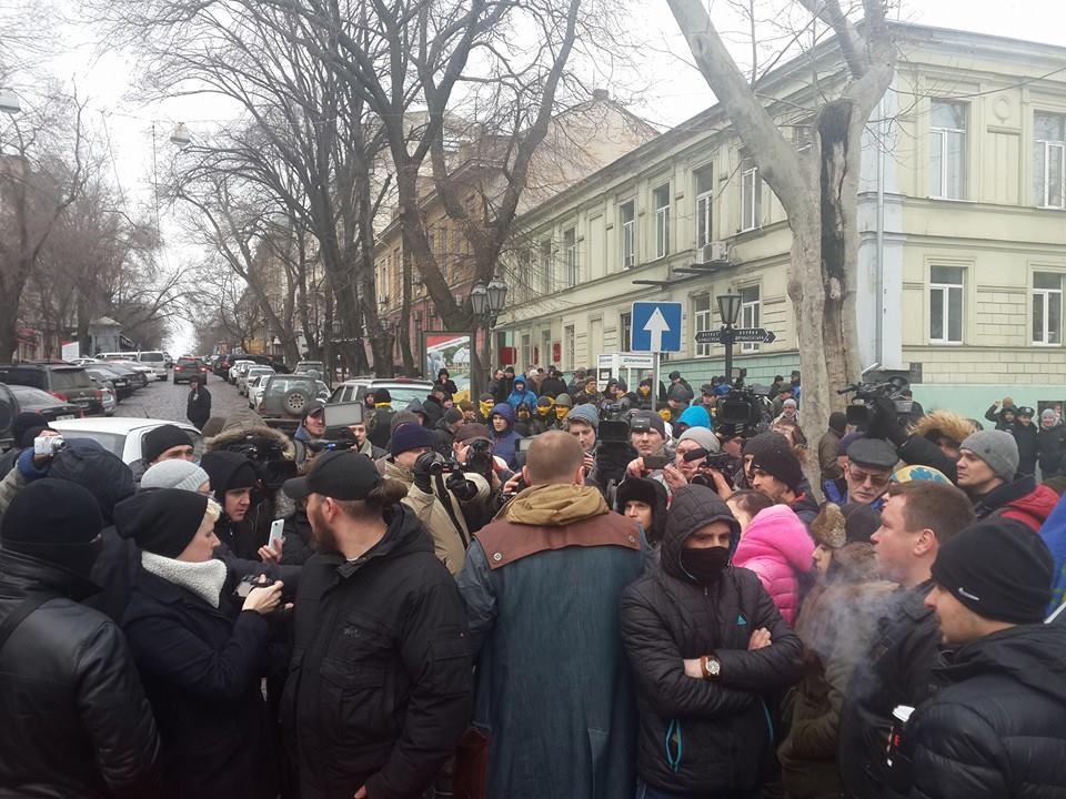 "1555309_917930181551664_2098292260050426492_n ""Свободу Резвушкину"" - в Одессе пикетируют прокуратуру (фото)"