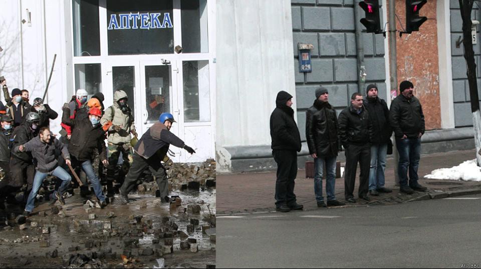 Cпустя год. Майдан (фотопроект)