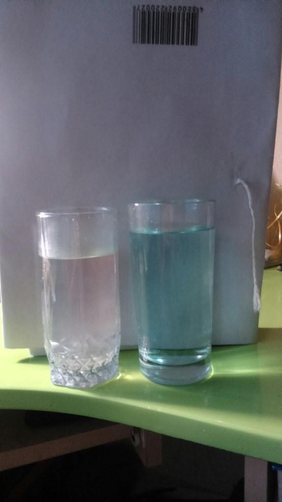 В Белгороде-Днестровском пола вода из-под крана необычного цвета (фото)