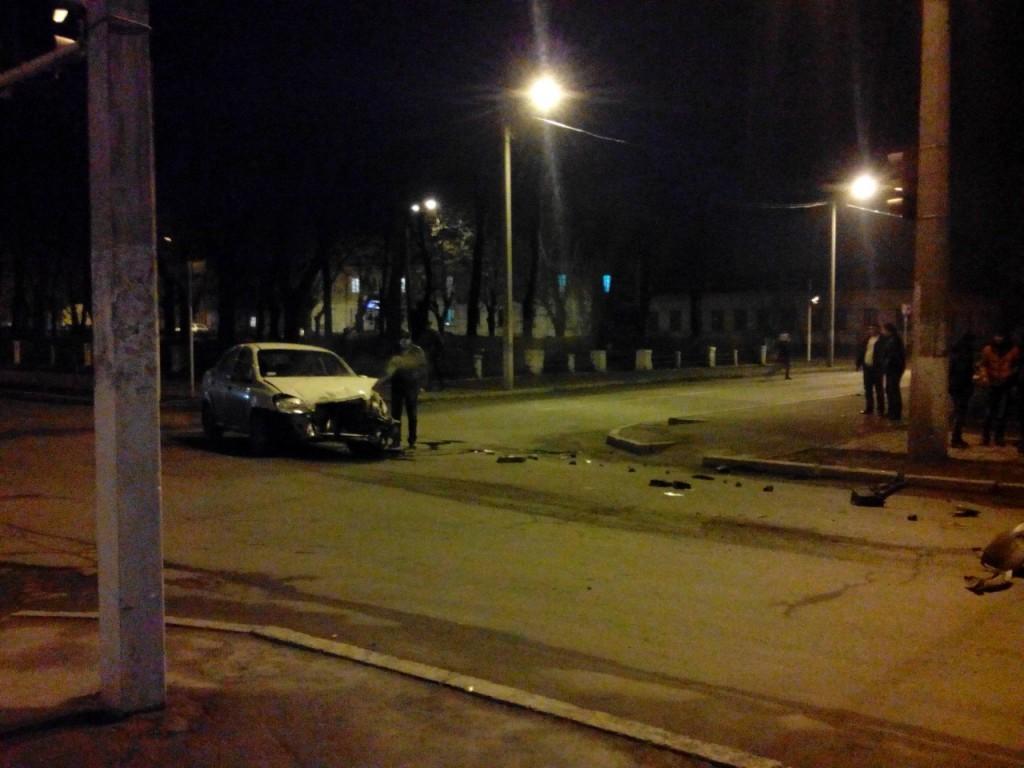 Вечернее ДТП в Измаиле (фото)