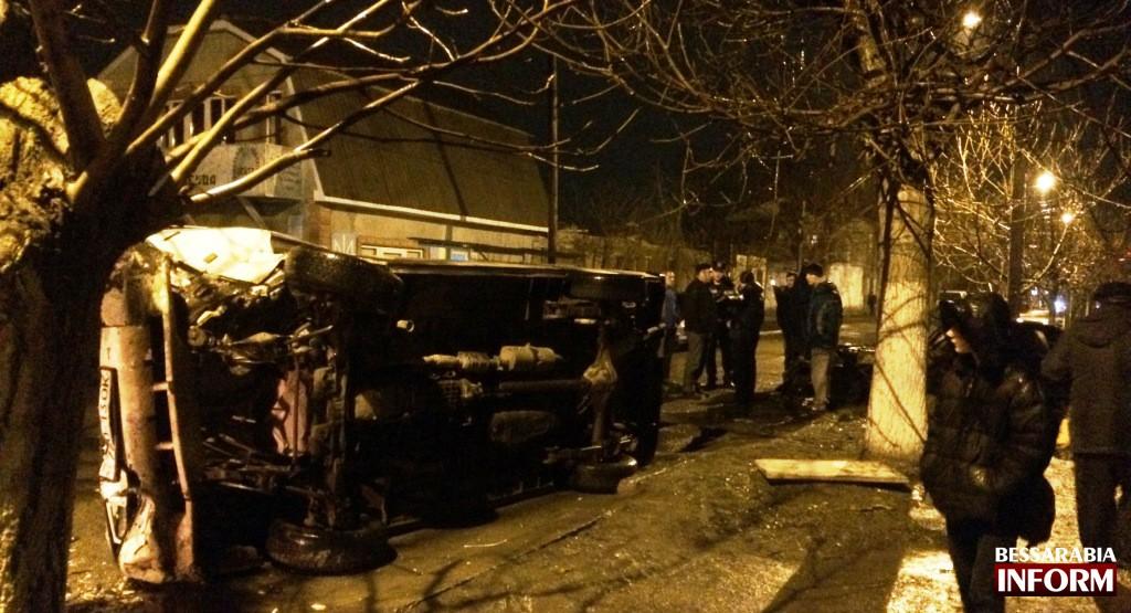 Жесткое тройное ДТП в Измаиле (фото, видео)