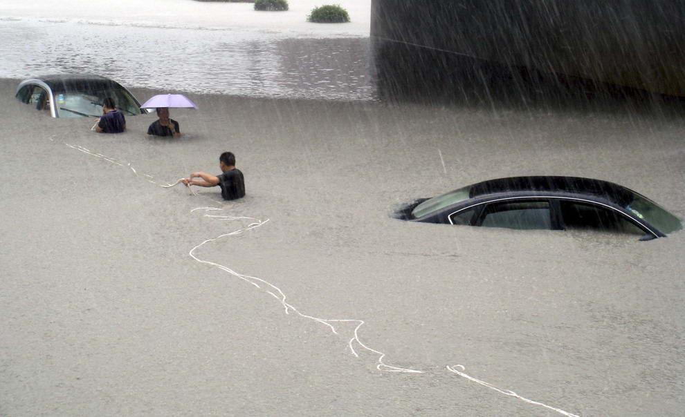 Спасатели выкачивали воду в Килие
