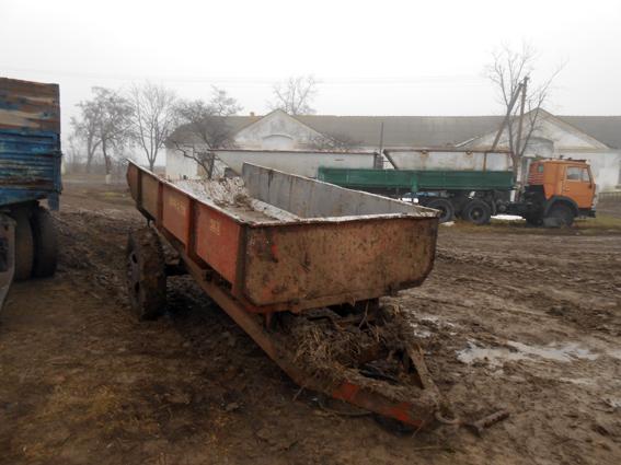 В Измаильском районе угнали трактор