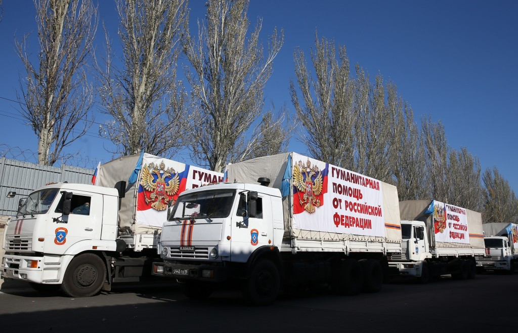 В Донбасс прибыл очередной гумконвой из РФ