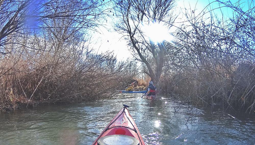 Активный выходной в Измаиле - в путь на каяках (фото)