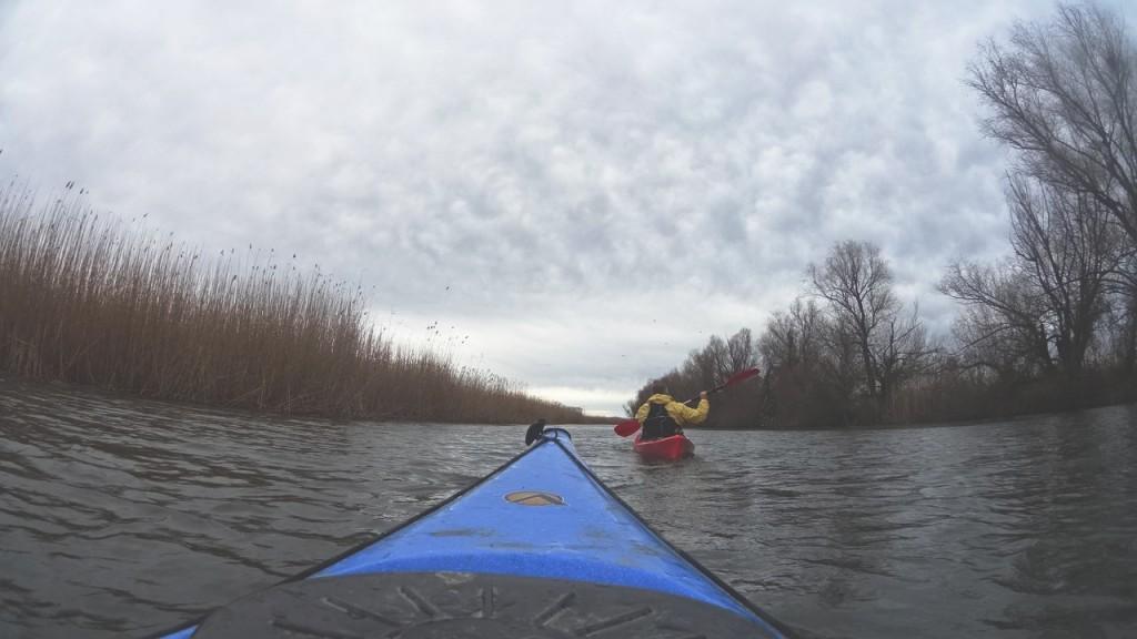 kayak-po-dunay-3-1024x576 Активный выходной в Измаиле - в путь на каяках (фото)