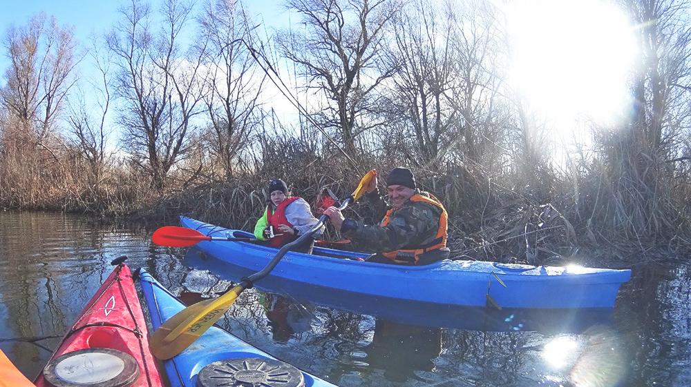 kayak-po-dunay-6 Активный выходной в Измаиле - в путь на каяках (фото)