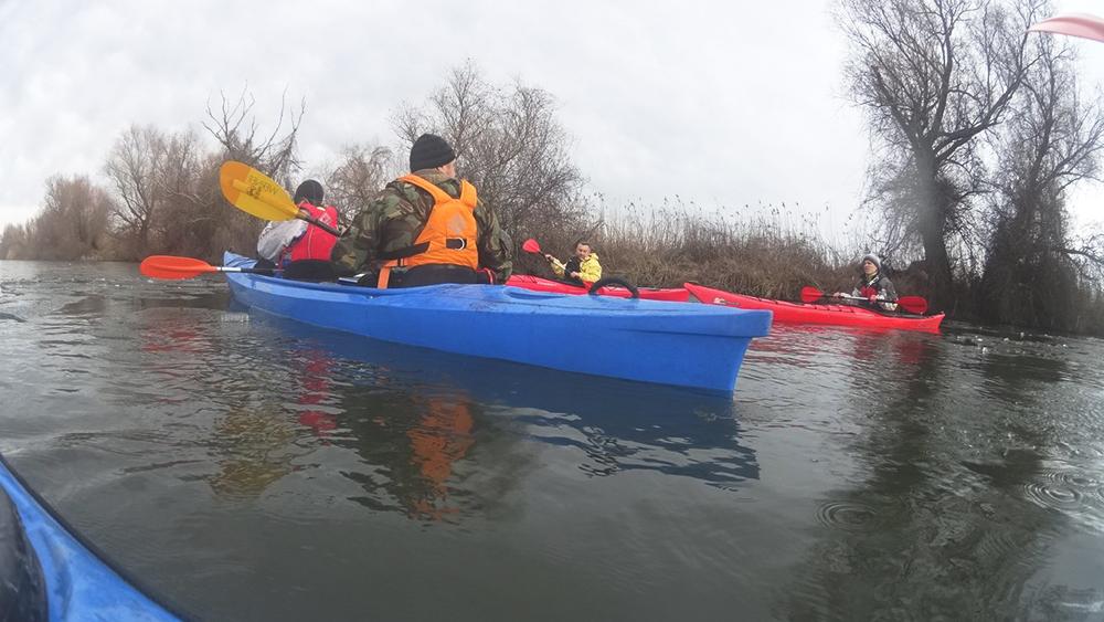 kayak-po-dunay-7 Активный выходной в Измаиле - в путь на каяках (фото)