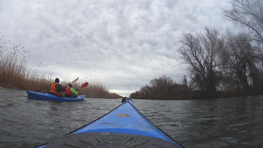 kayak-po-dunay-8 Активный выходной в Измаиле - в путь на каяках (фото)