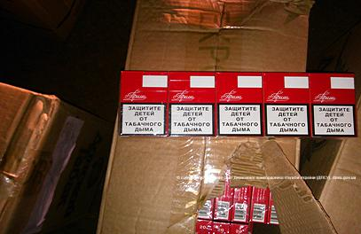 Белгород-Днестровские пограничники изъяли 184 ящика сигарет