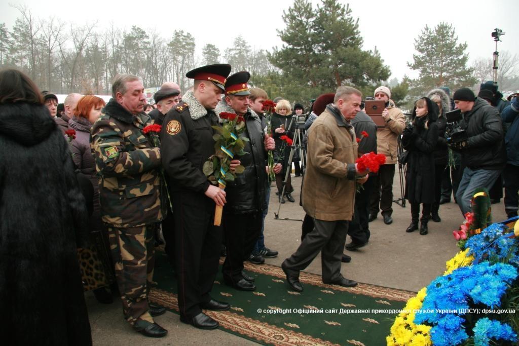 В память о командире Измаильского погранотряда Игоре Момоте (фото)