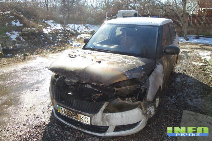 """Пятница 13-е: В Измаиле за одну ночь сожгли """"Nissan"""", """"Hyundai"""" и """"Skoda"""" (фото)"""