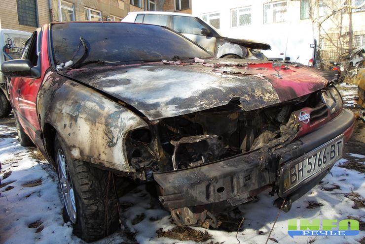 "podjogi-izmail-3 Пятница 13-е: В Измаиле за одну ночь сожгли ""Nissan"", ""Hyundai"" и ""Skoda"" (фото)"