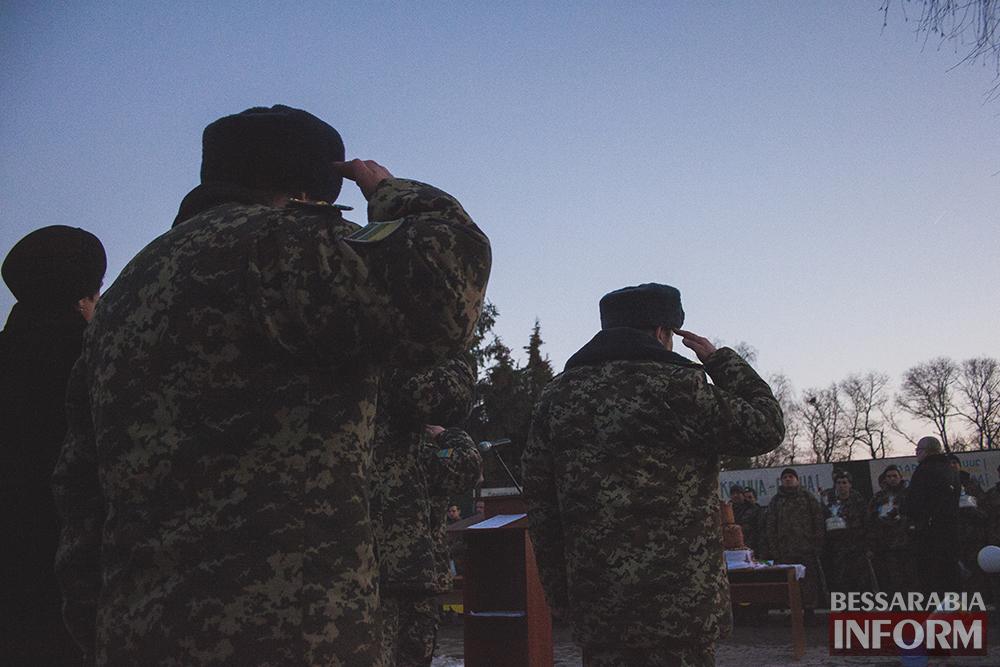 Как встречал Измаил пограничников из зоны АТО (фоторепортаж +видео)
