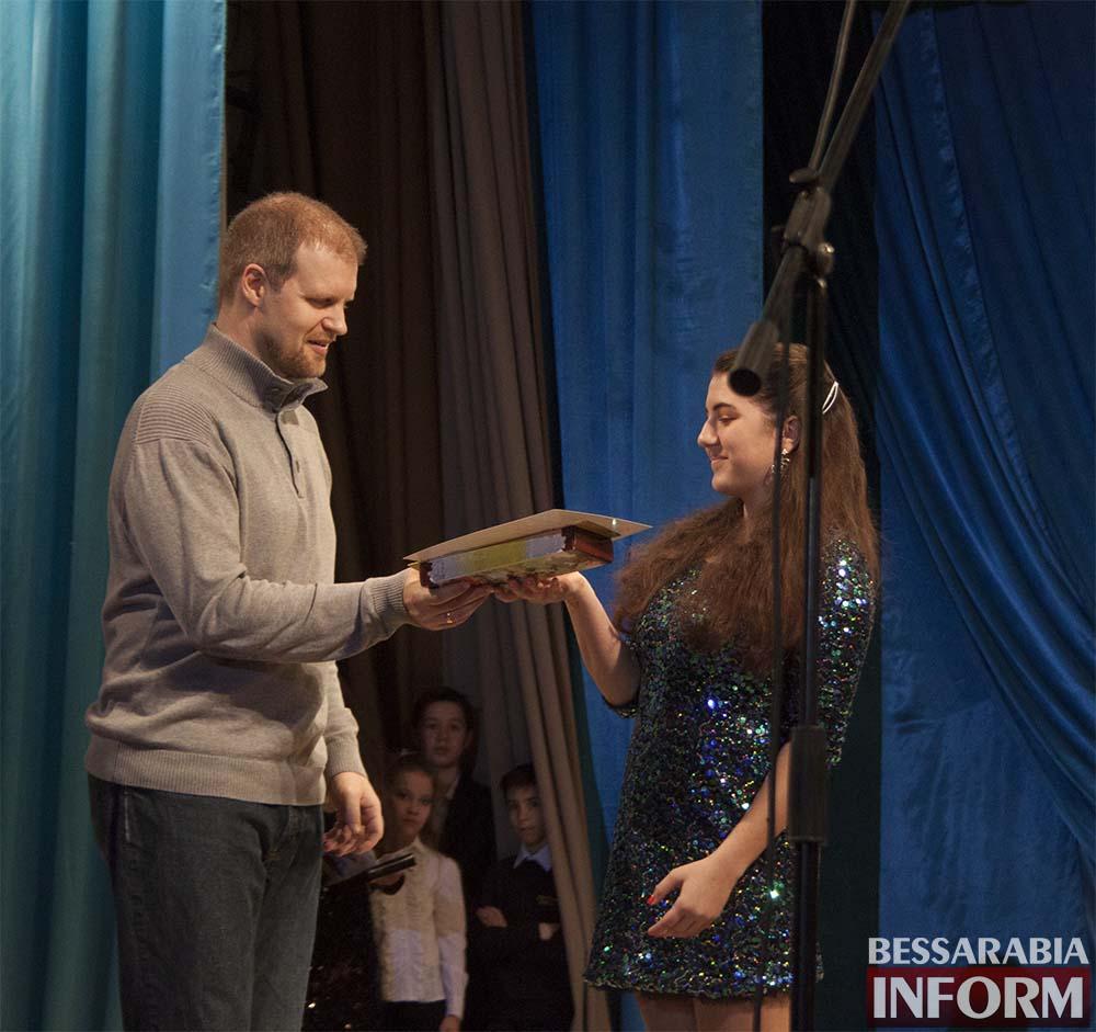 Без-имени-п В Измаиле награждали победителей конкурса «Юные таланты Бессарабии»(фото)
