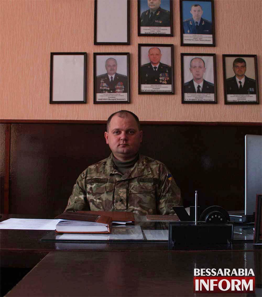 Измаильский военком о выполнении планов по мобилизации и призыву на срочную службу (видео)