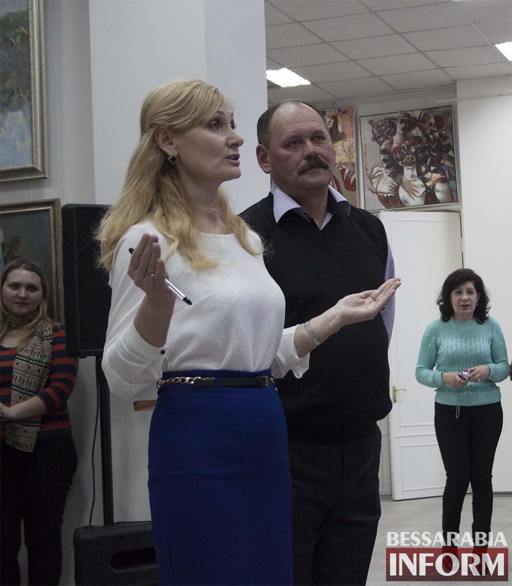 "Без-имени-17 Измаил: в галерее проводился урок ""Экосвіт очима митців""(фото,видео)"