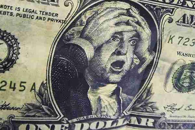 доллар3 Курс доллара стремится к 22,00грн/$