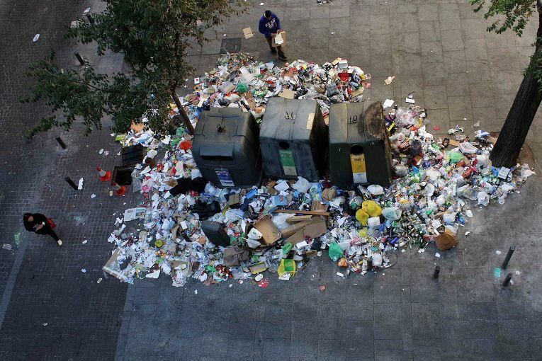 мусор Болград спасли от мусорной катастрофы
