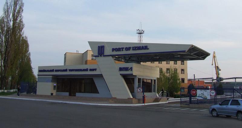 Измаильский порт увеличил грузооборот в два раза