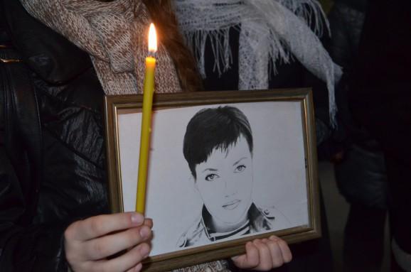 Молитва за жизнь и здоровье Надежды Савченко в Измаиле
