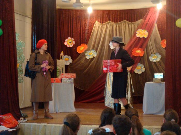 Измаил: в Доме Учителя отмечали  Международный День театра