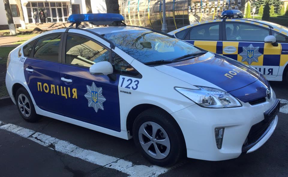 На чем будет ездить украинская полиция
